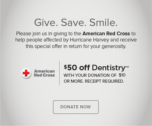 Hidden Lake Dental Group - Donate Red Cross® Hurricane Harvey